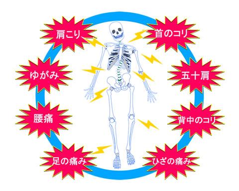 全身および様々な症状に対応
